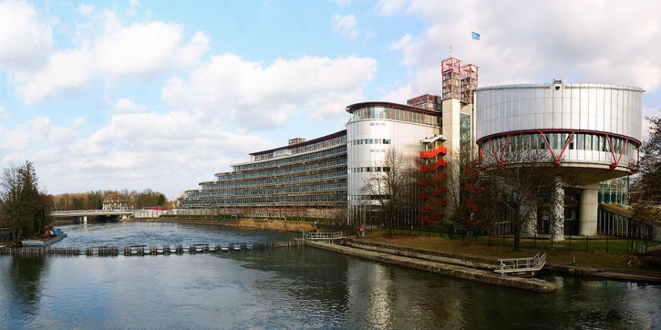 Leta 2005 je Slovenija dobila zaušnico in Strasbourga. Evropsko sodišče za človekove pravice (na fotografiji) je namreč ugotovilo sistemske pomanjkljivosti v slovenskem sodstvu. Foto: Adrian Grycuk/Wikipedia