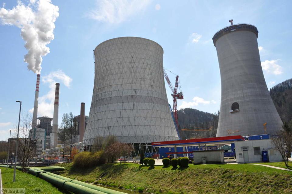 Foto: Šoštanj - Termoelektrana Šoštanj/Kraji EU