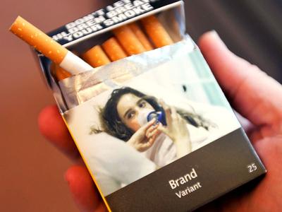 Enotna embalaža cigaret v Avstraliji. Foto: Wikipedia