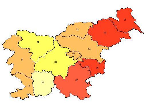 revscina slo regije