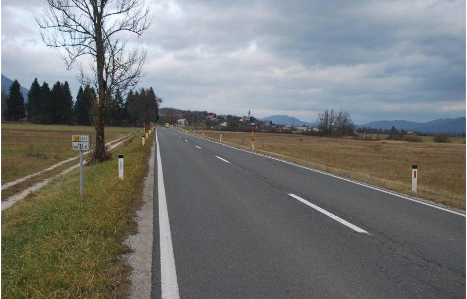 Pogled na obravnavano območje (v nasprotni smeri stacionaže). Foto: DRSI