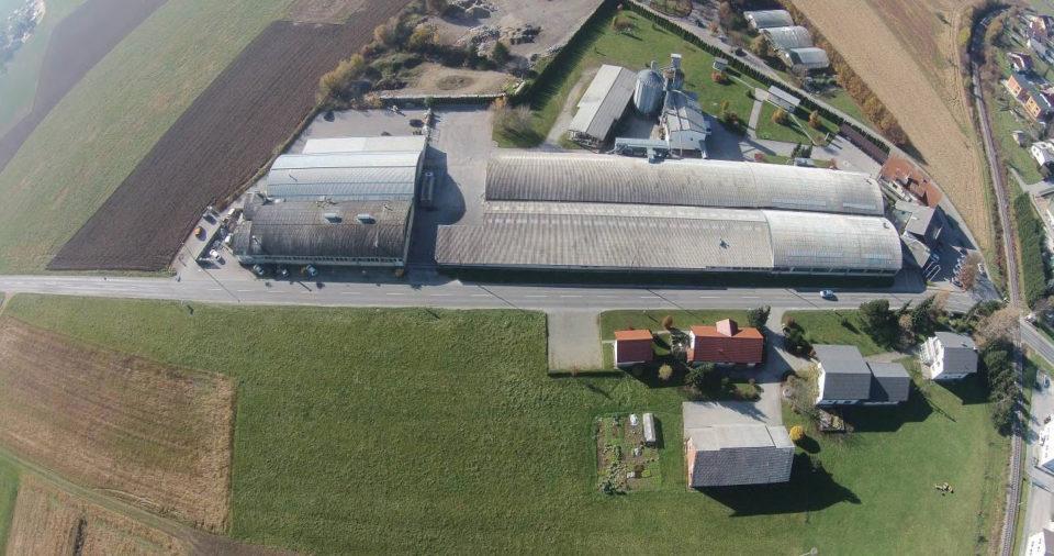 Zračni posnetek obravnavanega območja. Foto: DRSI