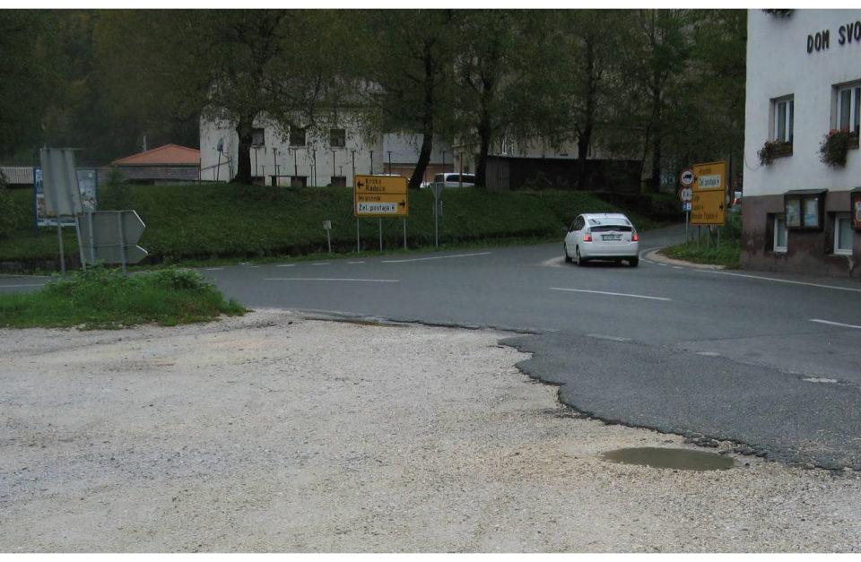 3-krako križišče. Foto: DRSI