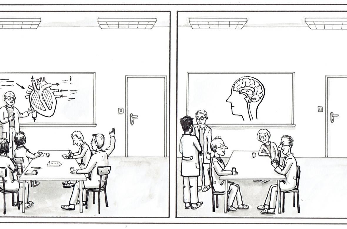 Kako kakovostno je slovensko zdravstvo? Ilustracija: Ajda Erznožnik