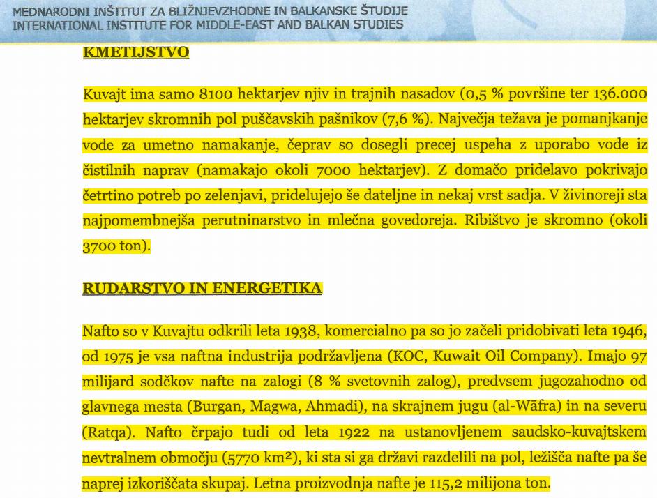 kuvajt studija prepis iz wiki