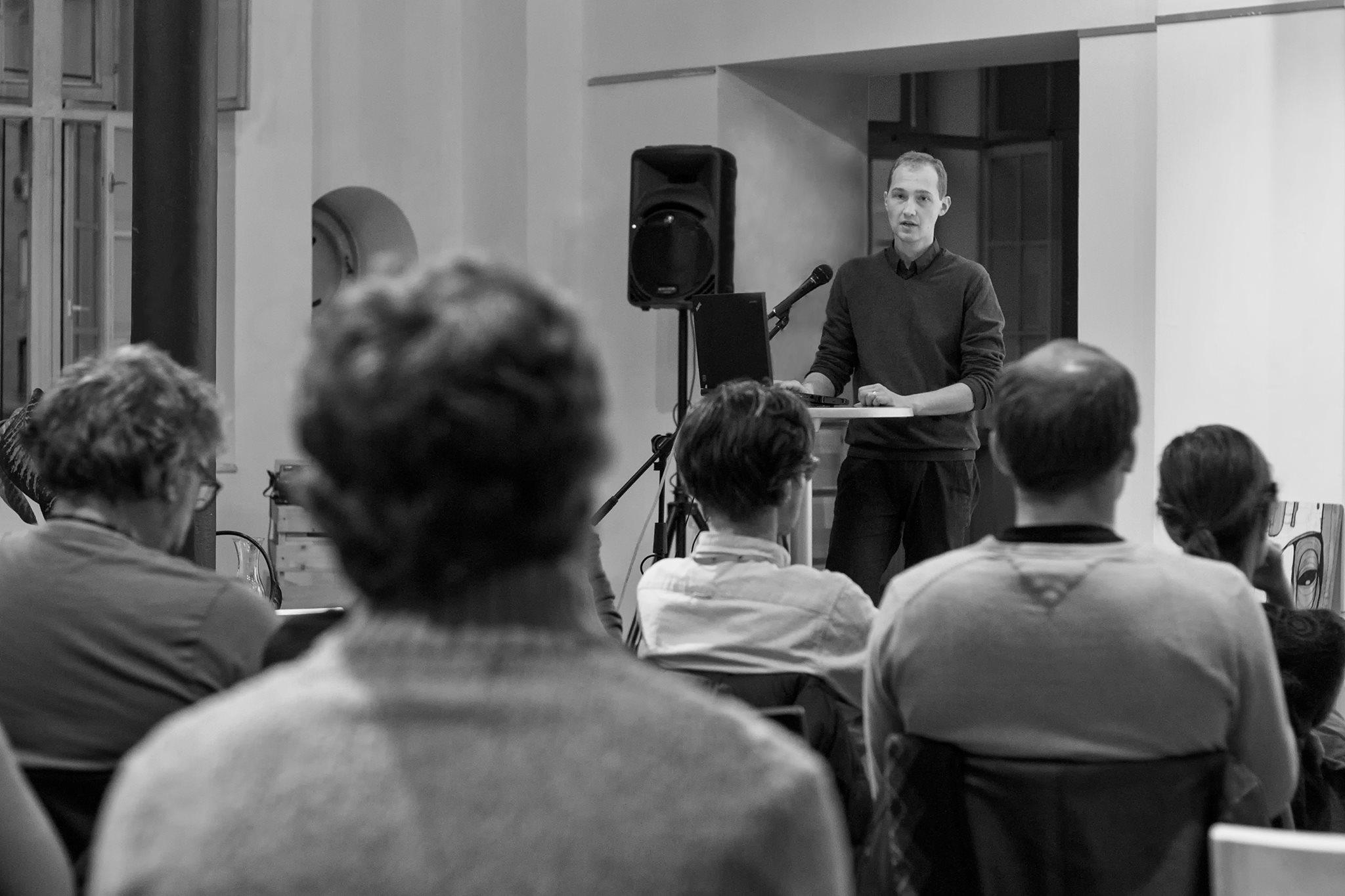 Prvi letošnji dogodek o odprtih podatkih. Fotografija: Vesna Lutar