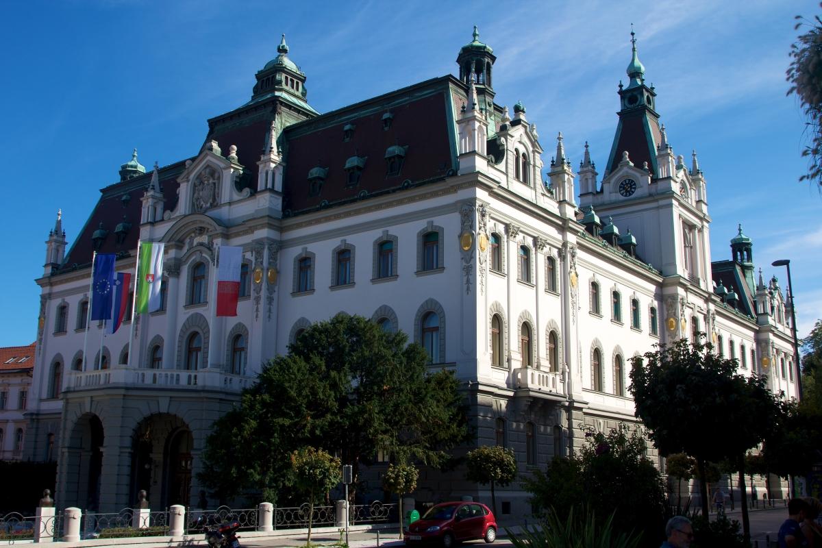 Stavba Univerze v Ljubljani. Foto: Ramon/Flickr